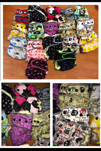 Huge LOT of HIGH END & LIMITED EDITION Cloth Diapers Peterborough Peterborough Area image 1