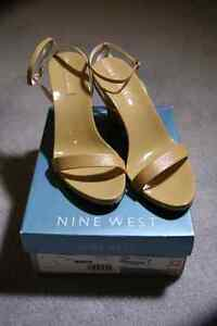 Nine West Beige Sandals - Size 7 Brand New