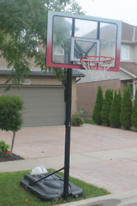 Sturdy Basketball net and stand