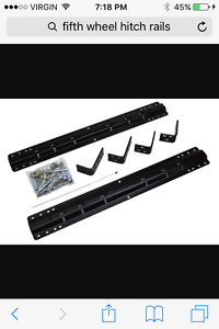 Fifth wheel hitch universal rails wanted