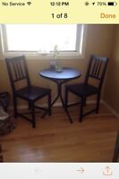 Bistro table -- $75 obo