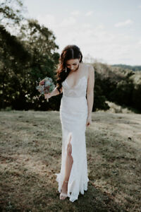 Australian Designer Made with Love Wedding Dress - Harlie sz 4/6