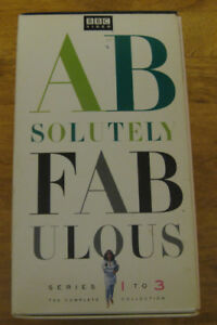 Absolutely Fabulous VHS Boxed Set, Seasons 1-3 F/S