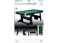Pool/snooker table bargain !!