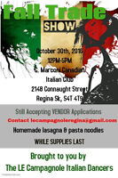 Trade show : Le Campagnole Italian Dance Group Fundraiser