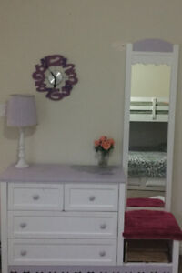 Dresser and Study Table