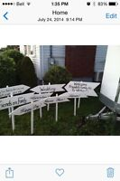 Wedding Signs for sale All for $59 (9 signs)