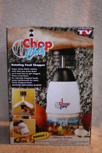 New Chop Chef Food Chopper & Cheese Grater (As seen on tv)