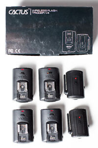 Cactus V4 Wireless Flash Trigger System (for off-camera flash)