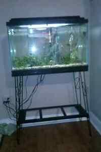 30 gallon with stand