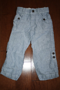 Baby GAP Linen Convertible Pants - 3T