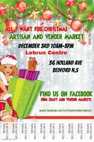 Free admisson Holliday Craft and Vendor market in Bedford