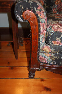 Antique Sofa and two Chairs Cambridge Kitchener Area image 8