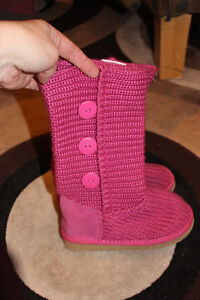 Girls Knit Boots
