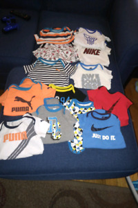13 brand name onesies 6 to 9 months