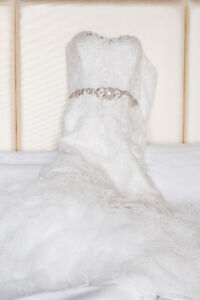 Mermaid Style Wedding Dress with belt