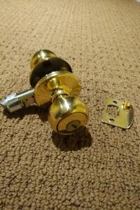 18 Gold Door Knobs