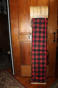 """TOBOGGAN """"Streamridge Grizzly"""" 5' made in Canada"""