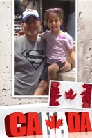 Happy Canada Day Help me keep my Daughter Safe in Canada