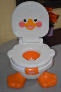 Fisher-Price Ducky Fun 3-in-1 Potty (New/Not used)