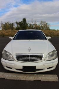 2001 Mercedes-Benz S-600 Sedan
