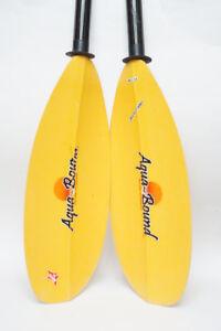 Pagaie de kayak de mer Aqua-Bound  220cm usagée