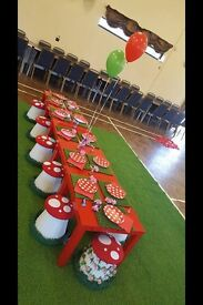 A magical & enchanting fairytale party hire