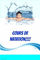 Cours de natation privé et semi-privé