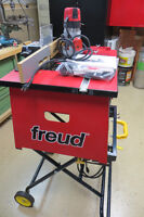 Freud Router table,Freud router,assortment router bits.