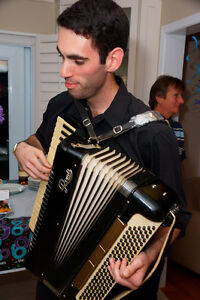 Pianist and accordionist available for weddings, parties, events