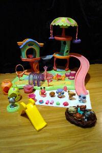 Littlest Pet Shop - Parc et 10 figurines
