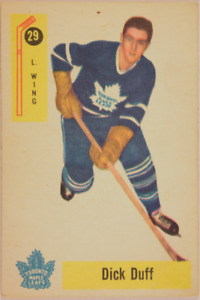 1958-1959 Toronto Maple Leafs Hockey Cards - 4 cards