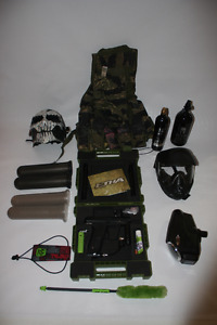 Etha Eclipse Paintball Setup