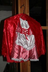 Red riding hood Halloween Costume size 2T