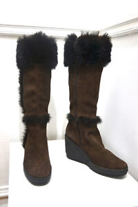 Brand new Tall leather Winter boots and shoes - size 9 and 10.