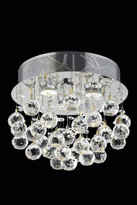 Crystal Chandelier( flush mount) With Egyptian crystal