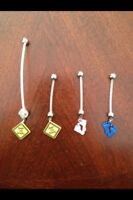 Maternity belly rings!! Brand new