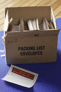 "685 Super-Stick Packing List Envelopes 4.5"" x 5.5"" London Ontario image 1"