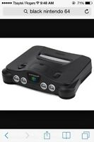 Nintendo 64 + 2 controllers + expansion pack