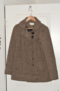 COSTA BLANCA: Brown Fall Jacket (size 6)