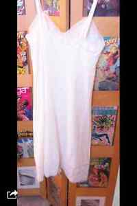 Full Slip Vintage 1960s NWT White Vanity Fair Full Slip Nylon