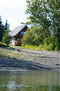 4 bedroom, 2 bath  home & shop, waterfront views Teslin Lake