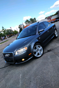 AUDI A4 2008 S-LINE 2.0T ( ! CUIR, TOIT , MAGS, ULTRA PROPRE !)