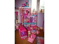 Barbie package: house, campervan, Scooter, horse and carriage, car and Pet slide and pool. £120 ono