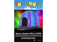 Disco Dome Hire Lanarkshire