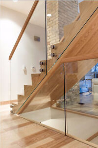 Custom Glass Railings for $39 per linear foot :) Limited time!