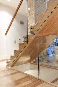 Custom Glass Railings for $29 per linear foot :) Limited time!