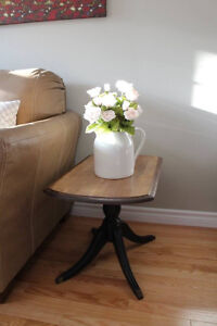 Farmhouse style antique stand