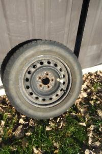 4 winter tires on rims 215 60R 16