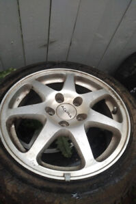 ACURA NSX rims for sale 4 rims and tires full set. First $ 1500
